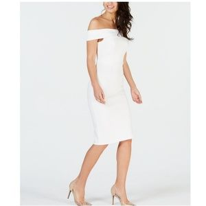 THALIA SODI Off-The-Shoulder Bodycon Dress
